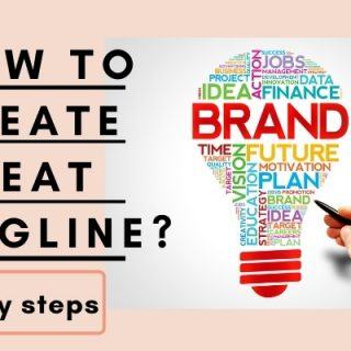How to Create a Great Tagline for Your Brand in 4 Easy Steps